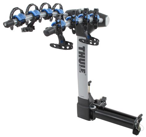 swinging bike rack hitch thule apex swing 4 bike rack for 2 quot hitches swinging