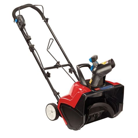 toro power curve 18 in 15 electric snow blower 38381