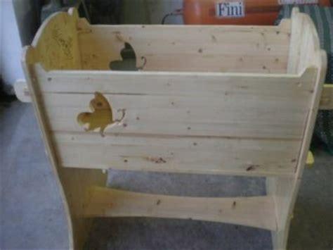 come costruire una culla in legno culla in legno