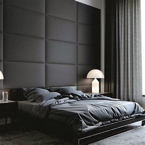 top   black bedroom design ideas dark interior walls