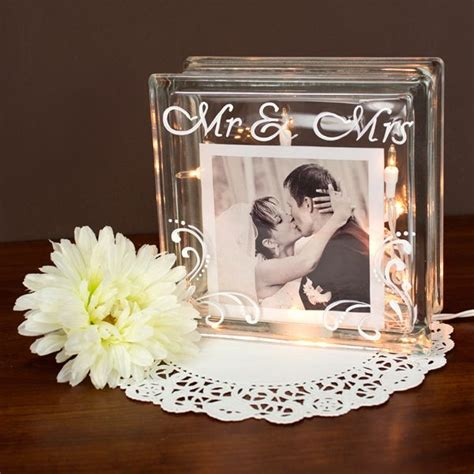 picture frame with light inside best 20 glass block crafts ideas on lighted