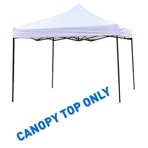 trademark innovations square replacement canopy gazebo top