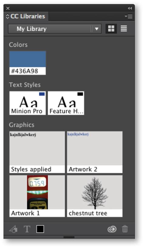 indesign font library indesign cc tip creative cloud libraries technology for