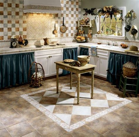 kitchen tile floor designs decorative kitchen floor tile design home interiors
