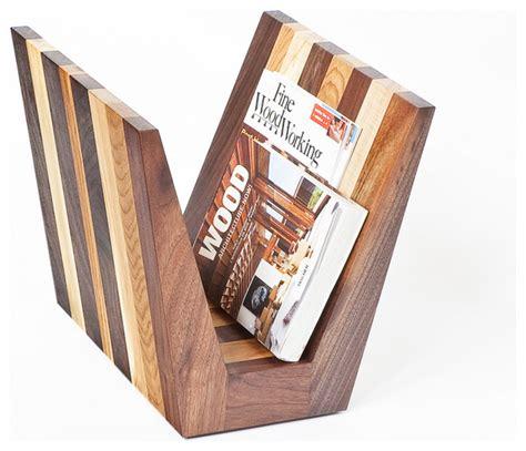 Magazine Rack by Magazine Rack By Cherrywood Studio