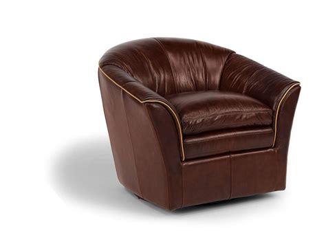 Flexsteel Latitudes Antoni Swivel Chair Leather Luxury Flexsteel Swivel Chair