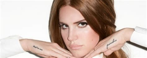 lana del rey hand tattoo fan 187 tattoos