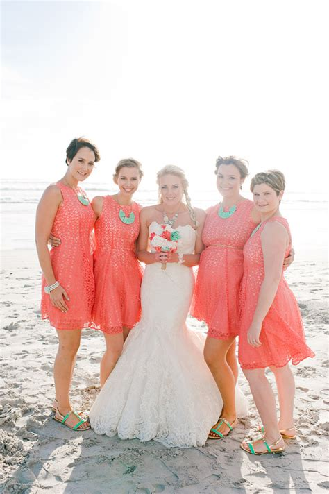beach wedding dresses coral coral bridesmaid dresses dressed up girl