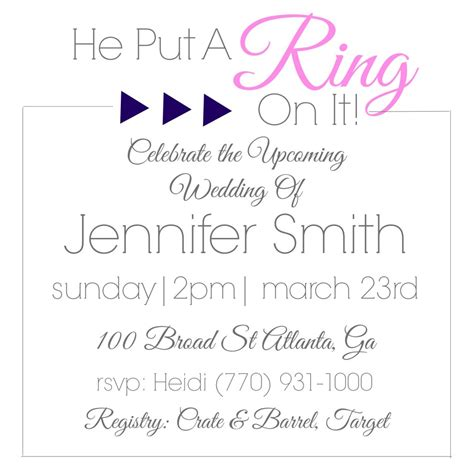 Bridal Invitations by Geometric Bridal Shower Invitations