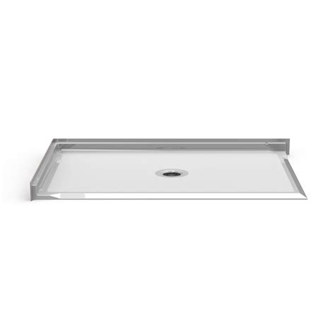 shower pan 60x36 barrier free corner shower pan