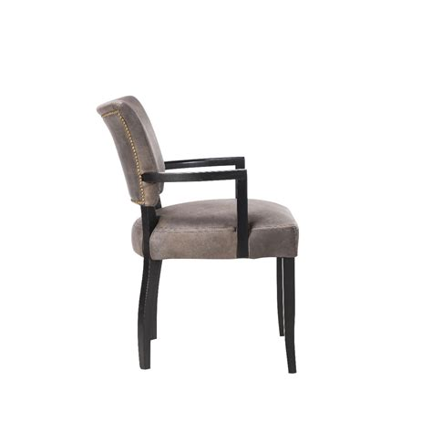 dining chairs with arms timothy oulton mimi dining chair with arms black oak legs