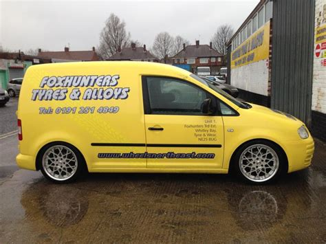 volkswagen caddy wheels vw caddy fitted with 18 quot calibre cc x alloy wheels www