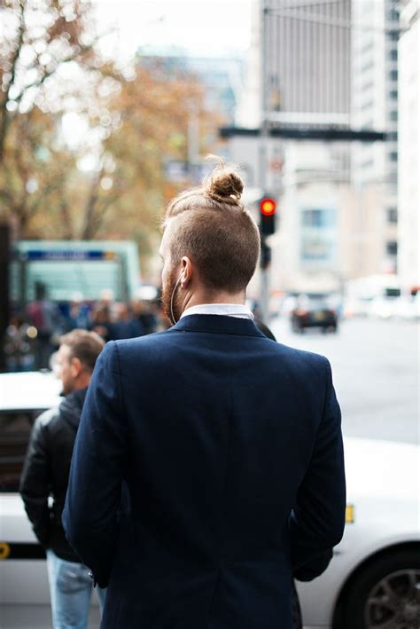 mens top knot undercut are all men growing their hair to get some buns