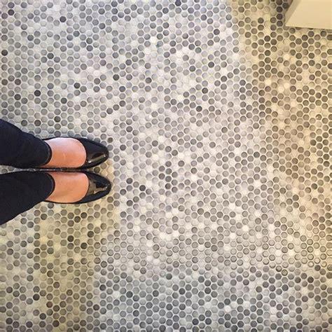 penny tiles bathroom best 25 penny tile floors ideas on pinterest pennies floor penny table and penny