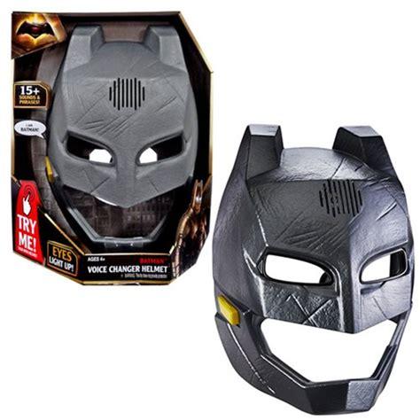Voice Changer Batman Armor Helmet batman v superman batman voice changer helmet mattel