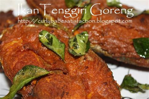 Minyak Ikan Tenggiri curlybabe s satisfaction ikan tenggiri goreng