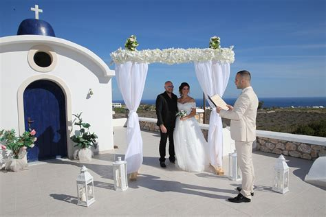 santorini wedding venue, small weddings in Santorini