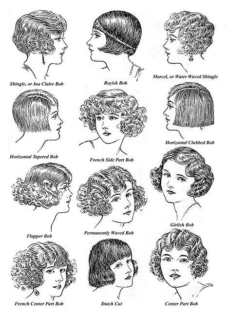 names of 1920s hairstyle pinterest the world s catalog of ideas