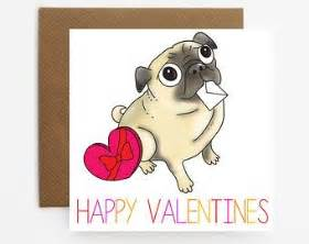 pug valentines card 17 best images about s day cards for