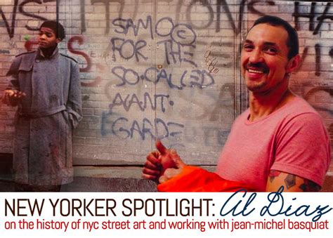 New Yorker Spotlight: Al Diaz on NYC Street Art and