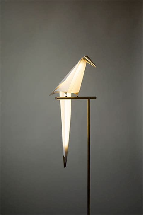 Great Toasters Origami Bird Lamp