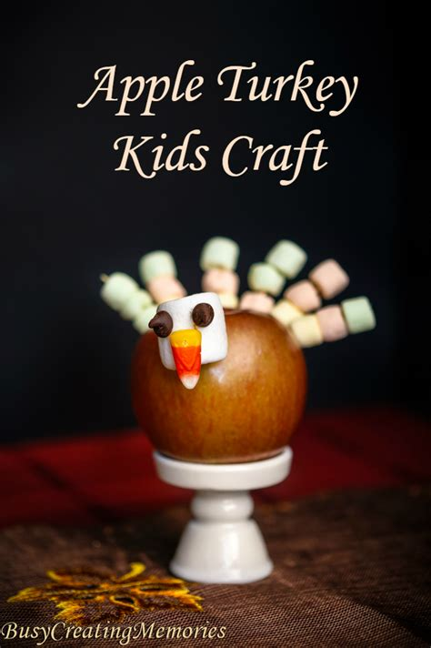 edible thanksgiving crafts for apple turkey edible thanksgiving crafts for