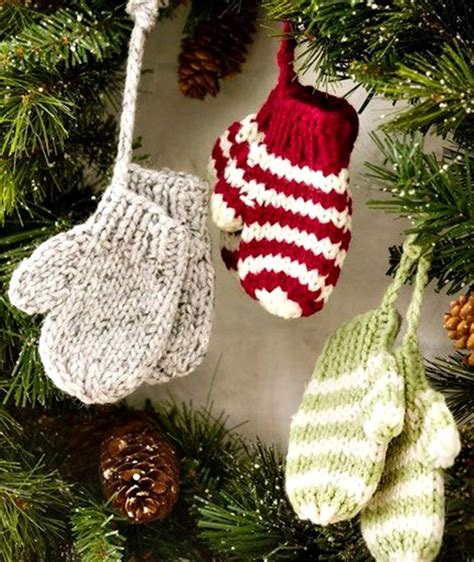 knitted christmas crafts craftshady craftshady