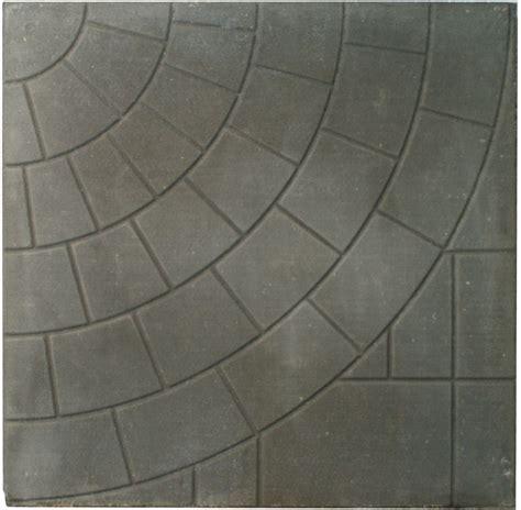cindercrete patio slab 24x24 circlefaced charcoal