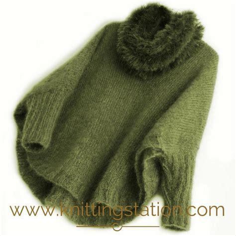 knitting pattern errors sigh poncho sweater knitting pattern by knitting station