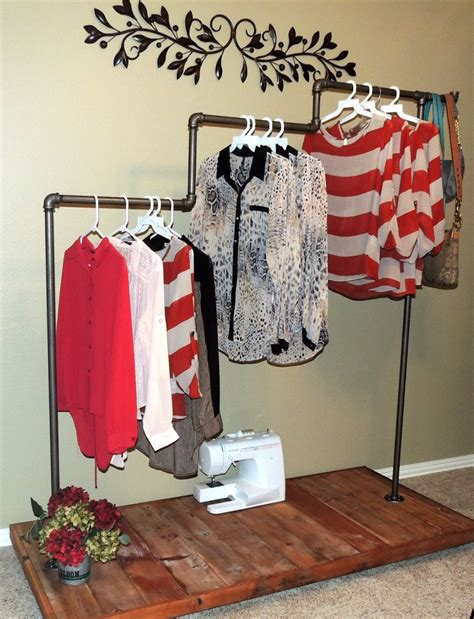 How To Build A Clothes Rack by Keep Your Wardrobe In Check With Freestanding Clothing Racks