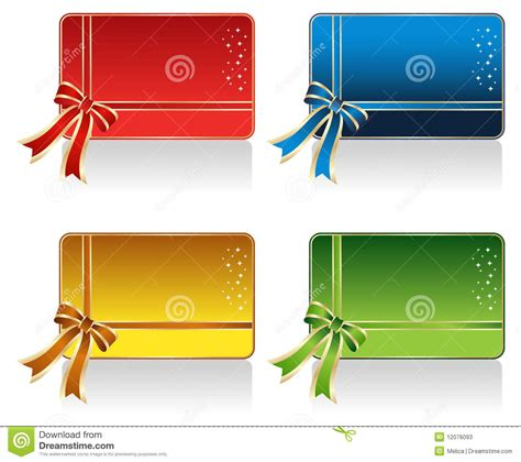 Designer Gift Cards - gift card design stock photos image 12076093