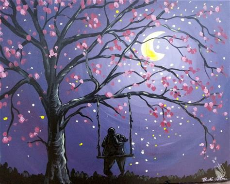 paint with a twist wixom moonlit view for two saturday january 9 2016