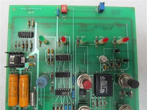 circuit board parts nordson 310119 circuit board for parts only potentiometer