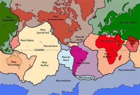 foto de las placas tectonicas curiosidades cient 205 ficas tect 243 nica de placas