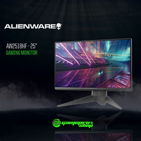 alienware aw2518hf 240hz freesync gaming monitor gamepro shop