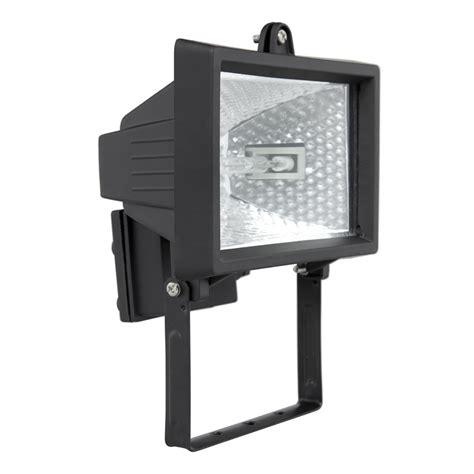 Lu Sorot Halogen 150 Watt brilliant 150w black ascot halogen flood light bunnings