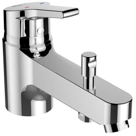 installation mitigeur baignoire mitigeur monotrou de baignoire chrom 233 brillant ideal