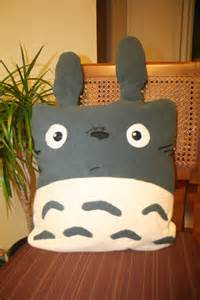 Totoro Pillow by Anime And Comics Diy Geekery