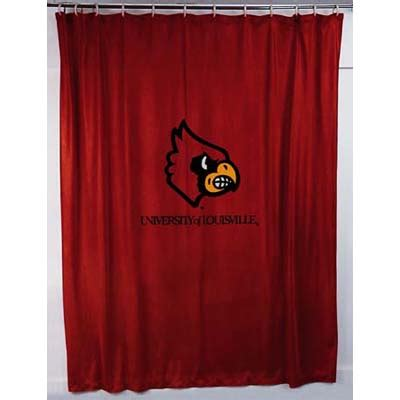 locker curtains louisville cardinals locker room shower curtain