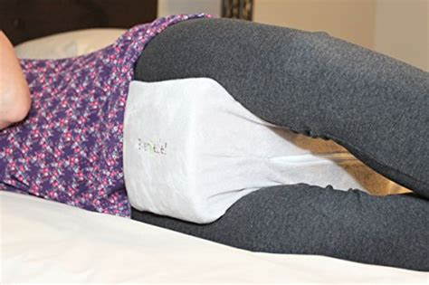 knee pillow for back and hip relief leg pillow