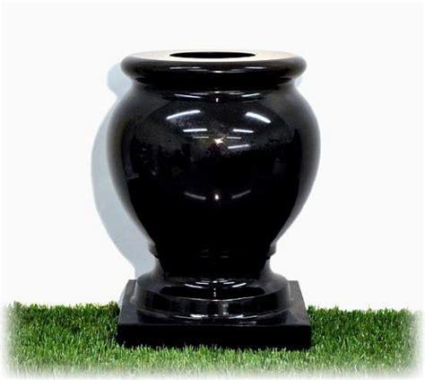 graveside flower vases gravestones