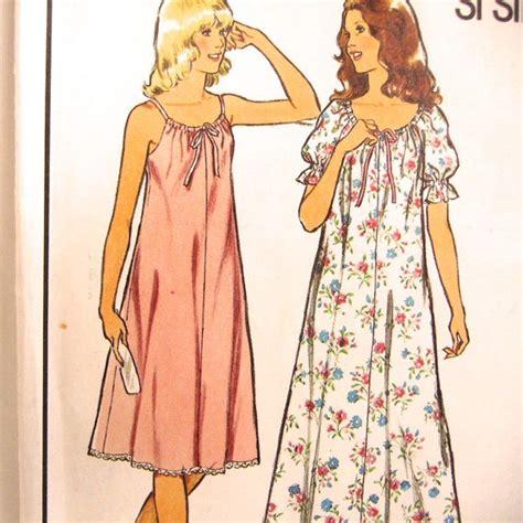 pattern for simple nightie summer sewing pattern size 8 10 sew simple nightie