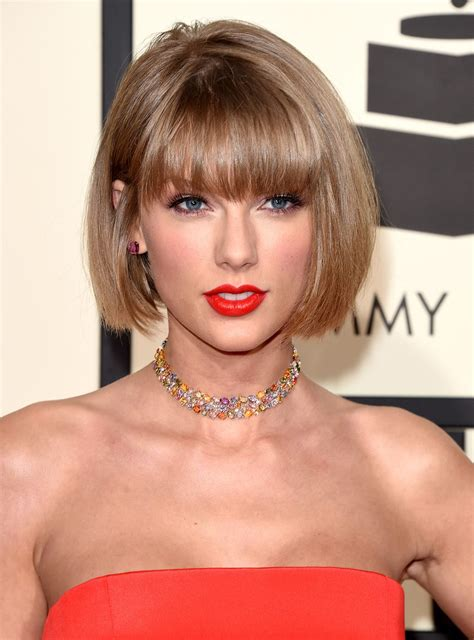 just a bob hairstyle taylor swift just debuted a totally new haircut at the