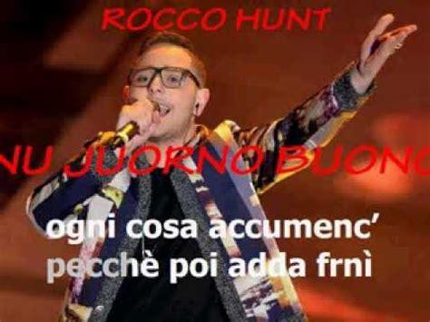 juorno buono testo nu juorno buono hunt testo lyrics karaoke