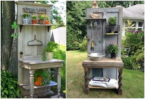 make your own potting bench make your own potting bench if you have a green thumb