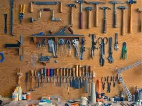 Garage Pegboard Organization - things organized neatly submission robert guillot tool wall 1998 from