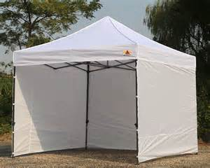 White Canopy Abccanopy 10x10 Deluxe White Ez Pop Up Canopy Package
