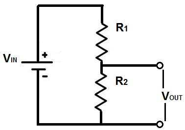 resistor in voltage divider voltage divider calculator