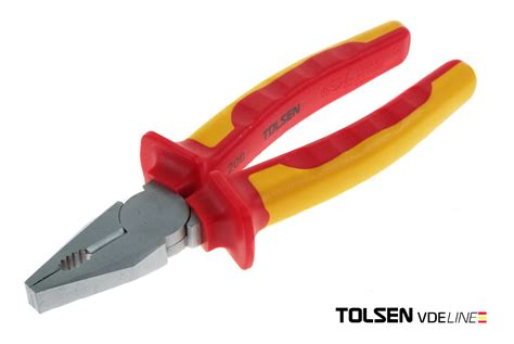 Tool Bag Tolsen tolsen v10220 insulated vde combination pliers 200mm