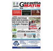 Gazzetta Matin Del1 Settembre 2014 By Luca Mercanti